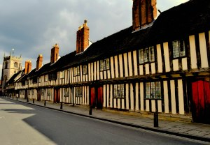Tudor houses - landmark of the town!