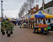 Rother Market set up