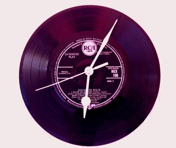 Vinyl Wall Clock!
