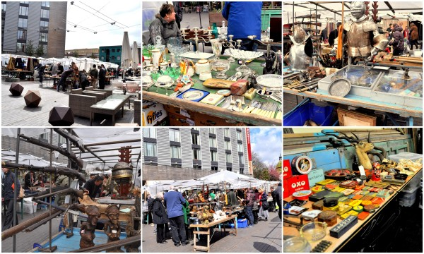 Authentic and historic Bermondsey Market...
