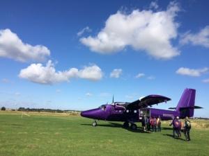 Purple plane